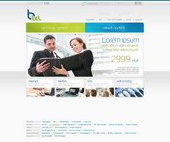 Btel website by VictoryDesign