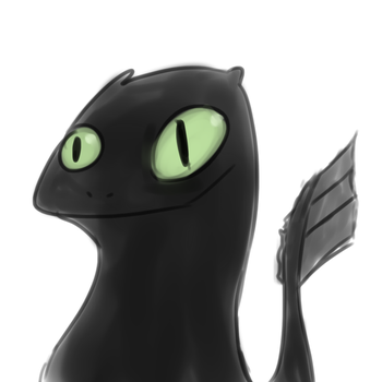 Toothless by Angeldhan