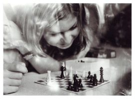 playing chess by Suzie006