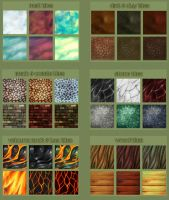 Texture Tiles - Set 2 by Dargonite
