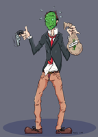 Cactus - PAYDAY 2 Character by TheRailz-Art