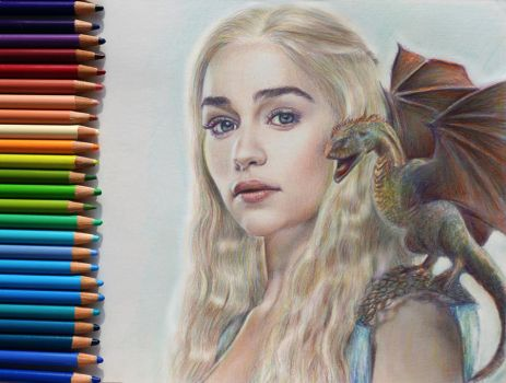 Daenerys Targaryen - Game of Thrones by Alena-Koshkar