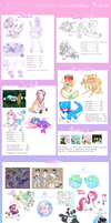 Commission pricelist - OPEN by Kandy-Cube