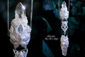 Silver Song Elven vial by Gwillieth