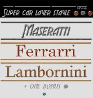 Super car layer style by stefanolibe