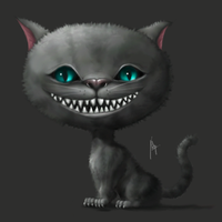 Tim Burton's Cheshire Cat by edynae