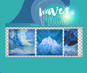 WAVES PACK by WingsToButterfly