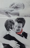 Will You... (Klaine Proposal Drawings 4 and 5) by Live4ArtInLA