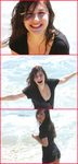 Erin Sanders in the Beach by Takeshi-Anthem