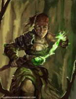 Druidess by Olieart