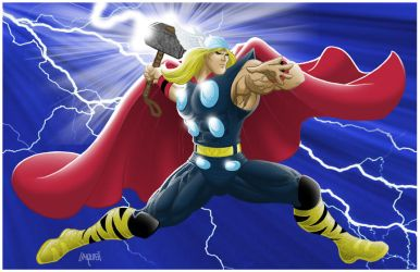 THOR at WAR by EricLinquist
