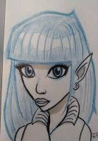 Elf sketch by tedbergeron