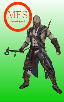 Connor Kenway Paperceraft (Assassin's Creed 3) by Sanek94ccol