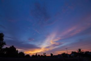 Afternoon Clouds by ImamPurbaya