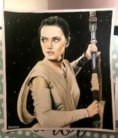 Rey (Rogue One) by lagun18