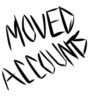 MOVED ACCOUNTS by MapleBatArtist