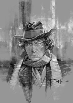 4th Doctor by ermitanyongpalits
