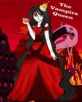 The Vampire Queen by Drawing-Heart