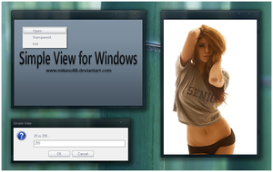 Simple View for Windows by milano88