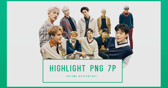 Highlight allure 7P PNG by vul3m3