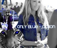 Only blue - Action by AndieStanford