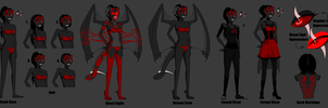 Bloody - Reference Lineup by SavannaEGoth