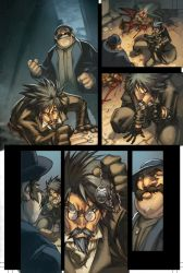 WoW Curse of the Worgen pg 7 by Tonywash