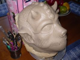 Kobold Clay Finished by MortalMagus