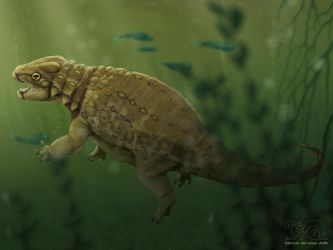 Earth Archives - Liaoningosaurus paradoxus by FabrizioDeRossi