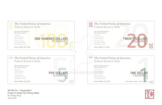 American Currency Redesign by ashley-f