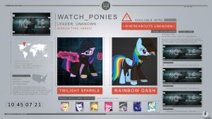 Watch Ponies Wallpaper by IIThunderboltII