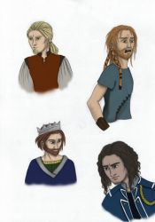 Sketches 2 colored by papaja94
