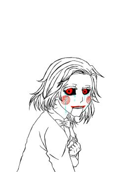 Crying Billy the Puppet (JPG version) by FuhrerAlca