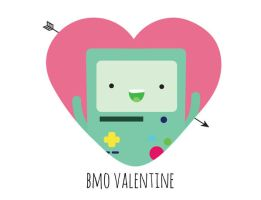 BMO Valentine - Pun by beccyboo-412