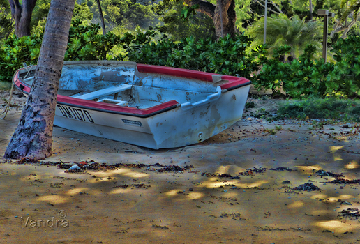 Beached Boat - photoseries1 by vanndra