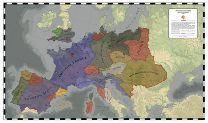 Warring Europe - War of the Five Marshals (1899) by ShahAbbas1571