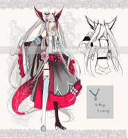 [CLOSED] - Auction - theme- Red Dragon by Syu-mln