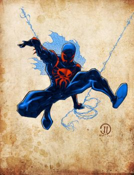 Spiderman2099 Colors by JoeyVazquez