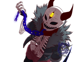 Collab: Demi!Sans by Crudaka