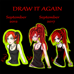 Draw it again after 5 years by fayrine
