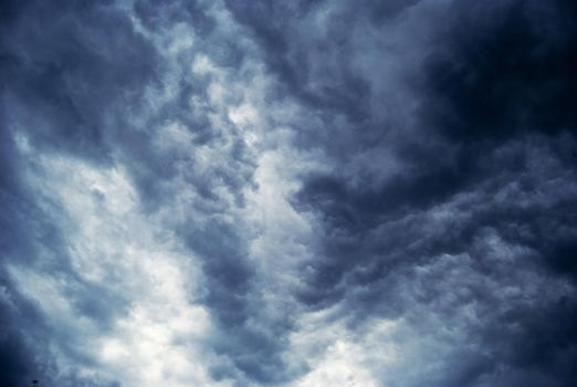 cloud sky stock background by amka-stock