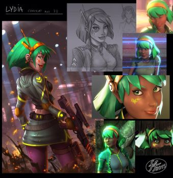 Lydia-concept by 14-bis