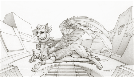 Aerie - Graphite WIP (Repost w/ changes) by ecmajor