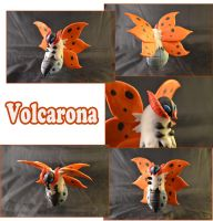 Weekly Sculpture: Volcarona