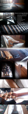 Electric Guitar Claymore prototype [GCL-00] by PtolemaiosLS