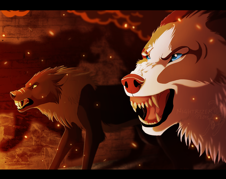Fight Through the Flames by Nightrizer