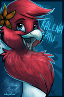 Kalena Badge -Comm- by Nicay