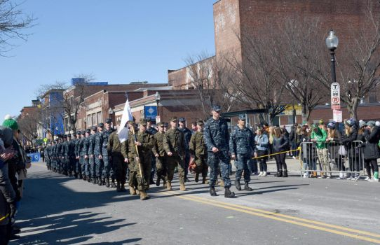 St. Patrick's Day Parade, Uniforms In Line by Miss-Tbones