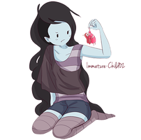 Marceline- Where'd This Come From? by Immature-Child02