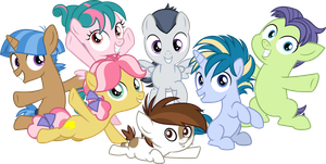 My Little Pony: Friendship is Blank Flanks by Comeha